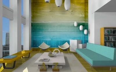Diseño de interiores con muebles en 3D