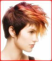 gaya rambut mohawk wanita
