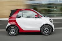 Smart ForTwo Cabrio (2016) Side