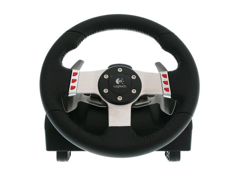 game steering wheel reviews logitech g27 racing wheel review. Black Bedroom Furniture Sets. Home Design Ideas