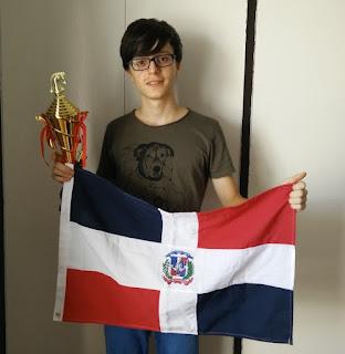 Joven dominicano obtiene Medalla de Plata en Campeonato Panamericano de Ajedrez Escolar.