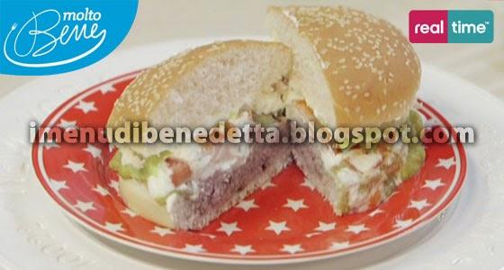 Hamburger-Fajitas con Salsa Guacamole di Benedetta Parodi