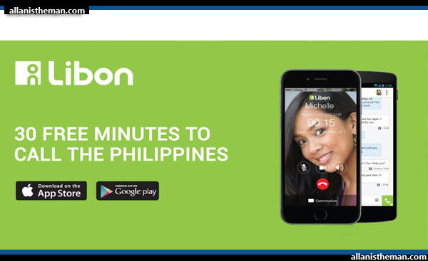 LIBON Offers 30 Free Minutes Call To The Philippines