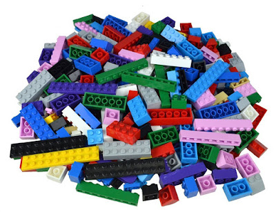 500 Piece Building Bricks Compatible with Lego #Valuepack500blocks