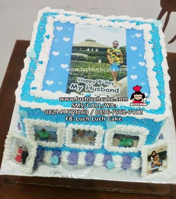 Kue Tart Untuk Suami Edibel Image (REPEAT ORDER)