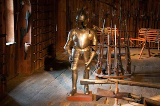 armory at Riegersburg Castle in Styria Austria