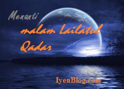 Tanda datangnya malam lailatul qadar bulan ramadhan