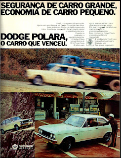 propaganda Dodge Polara - 1976. reclame de carros anos 70. brazilian advertising cars in the 70. os anos 70. história da década de 70; Brazil in the 70s; propaganda carros anos 70; Oswaldo Hernandez;