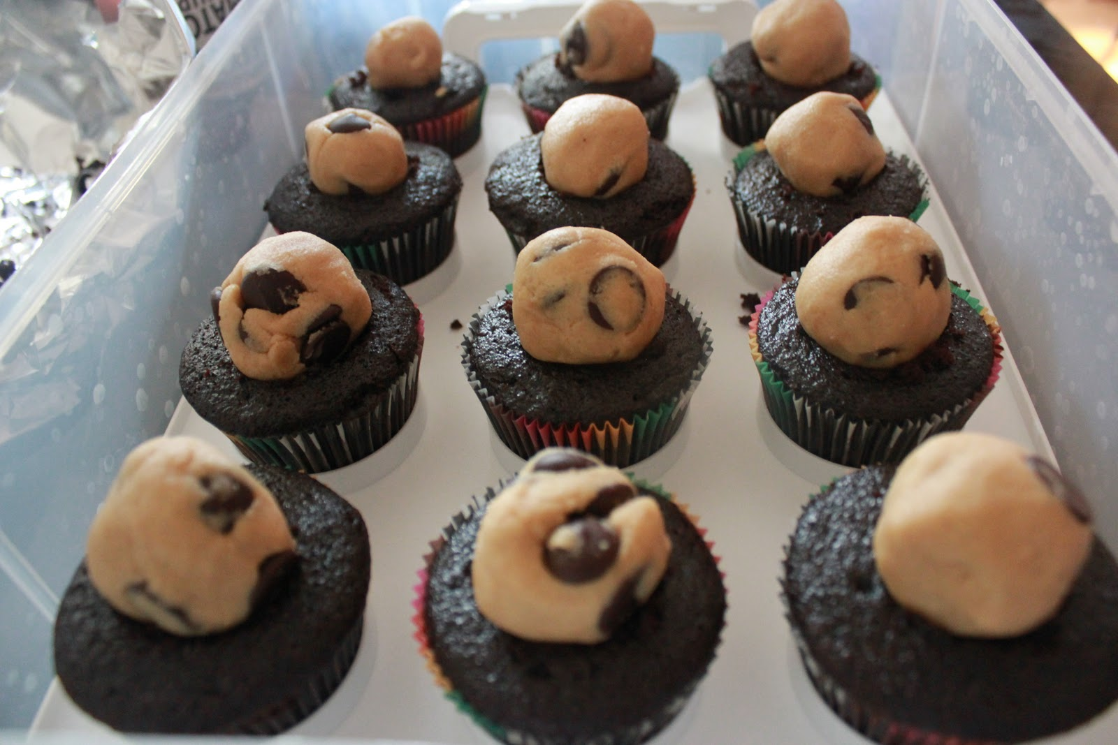 ... : Chocolate, Peanut Butter Cookie Dough, Toasted Marshmallow Cupcakes