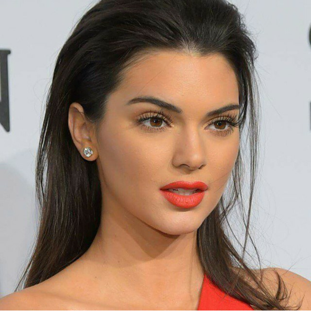 Kendall jenner also used to have problems with acne
