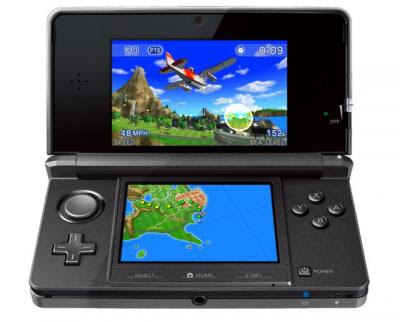 new Nintendo 3DS over the
