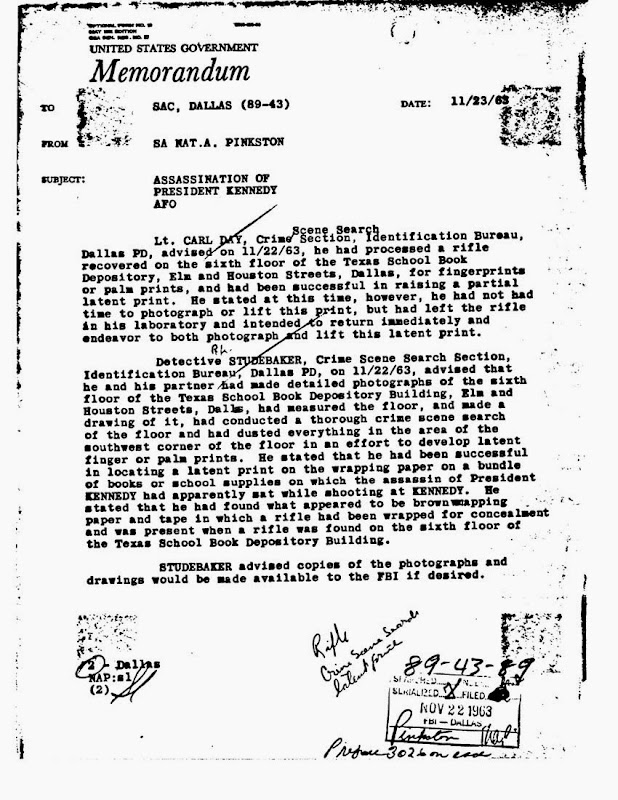 Memo-Dated-11-23-63-Regarding-Lt-Day-Fin