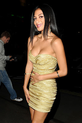 Nicole Scherzinger Hot Cleavage at The X Factor Party in London - Beautiful Female Photos