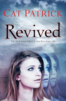 UK book cover for Revived by Cat Patrick