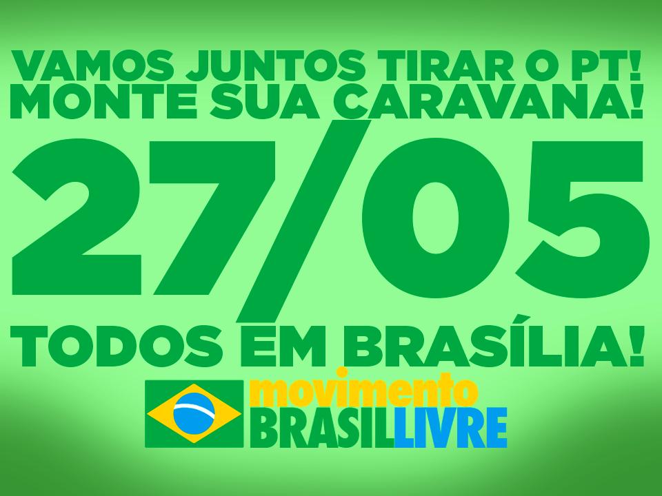 Todos em Brasília!