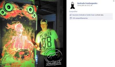 Boatos no Facebook: Cartaz da banda de Santa Maria previa tragédia