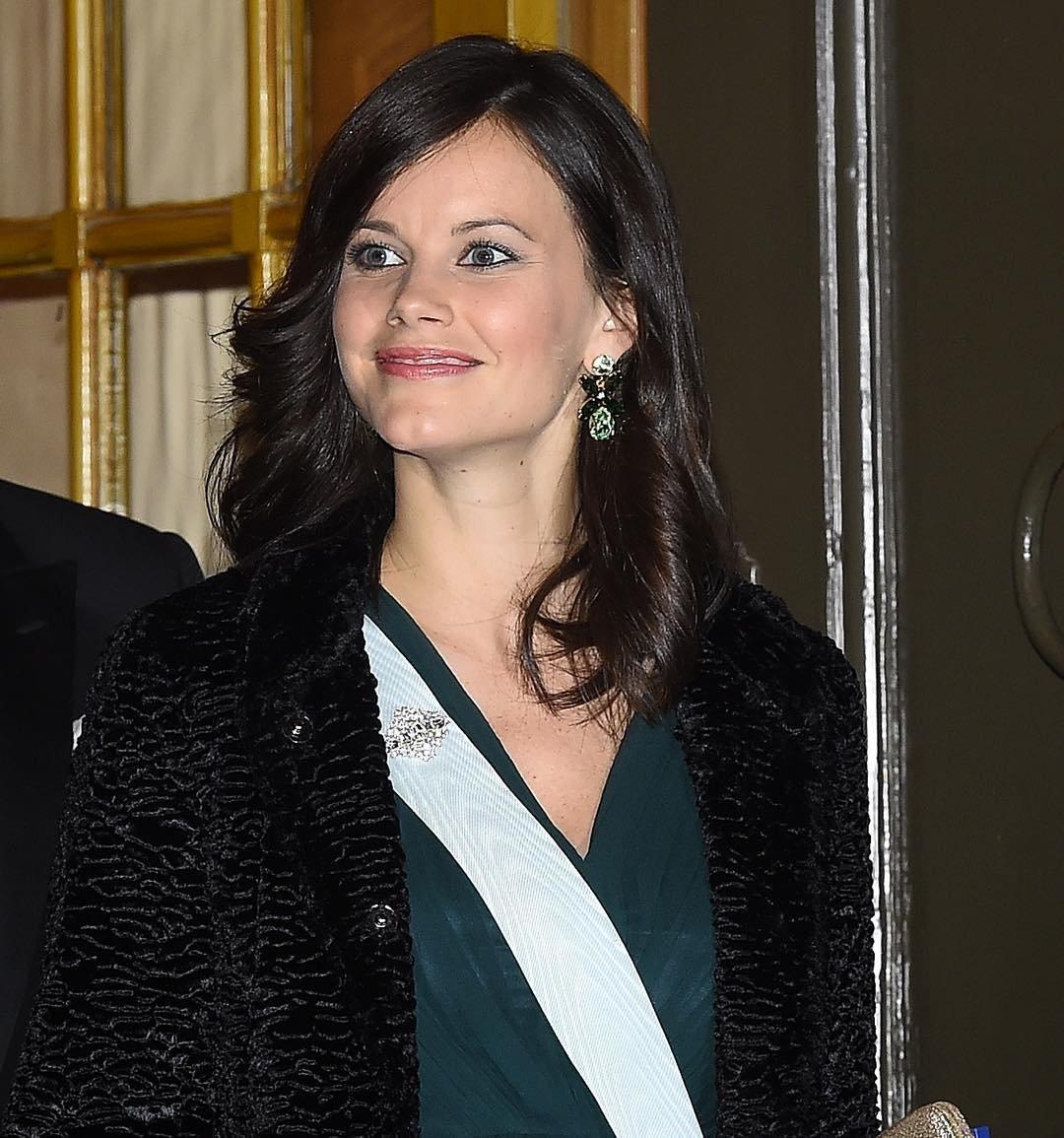 Sweden royals attend the formal gathering of the swedish - Princesse sofya ...