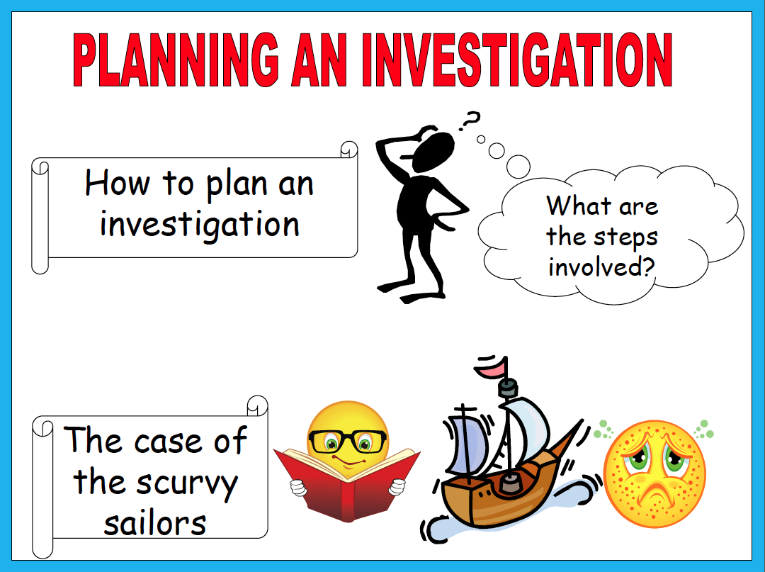 Scientific Investigations - Lessons - Tes Teach