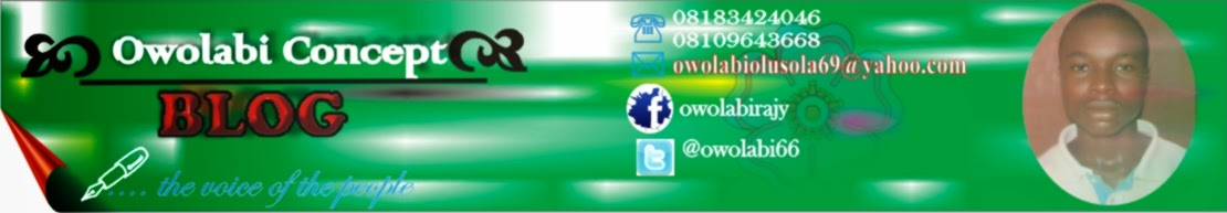 WELCOME TO OWOLABI CONCEPT ::::