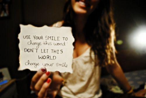 User Quotes Your Smile