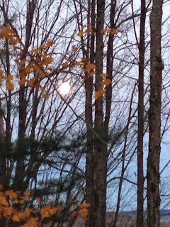 full moon in Southern New Hampshire