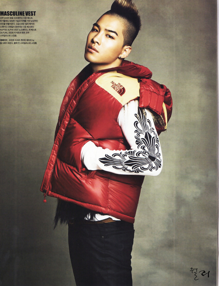 Taeyang  Photos Taeyang-North-Face-Singles-Magazine_003