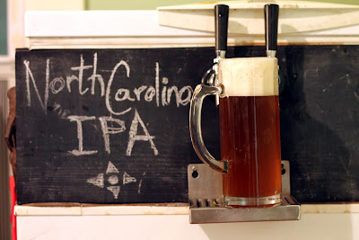 A big mug of North Carolina IPA!