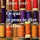 Ce que je peux te dire d'elles de Anne Icart