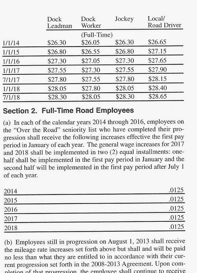 and the new contract from august 1 2013 to july 31 2018
