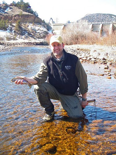 Fly Fish Addiction Spring Time Fishing On The Big