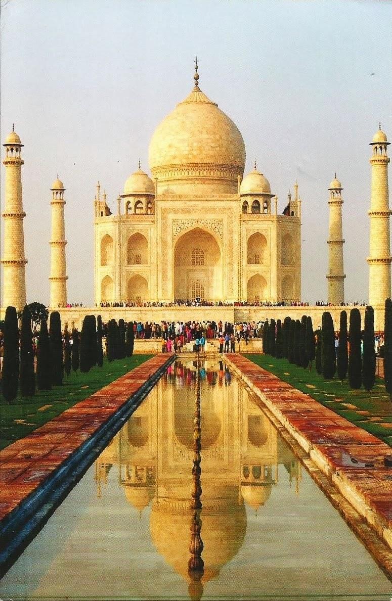 Postcards on My Wall: Taj Mahal, India (UNESCO WH Site)