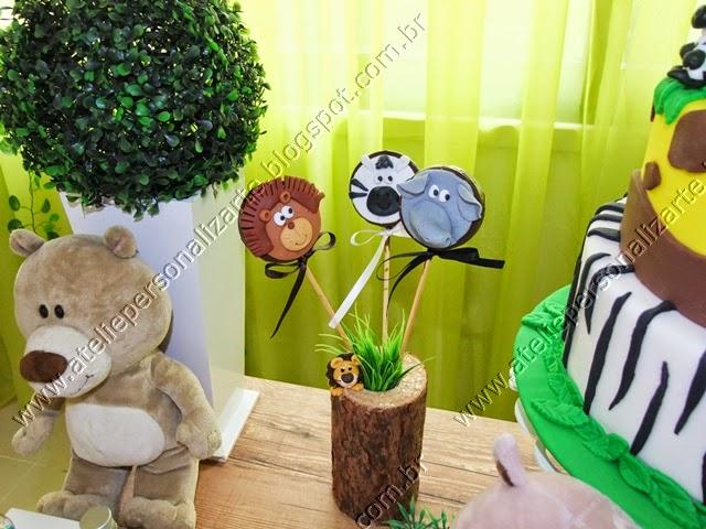 decoracao de festa infantil safari / floresta / selva Porto Alegre