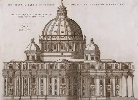 Historia del arte de la prehistoria al siglo xxi 9 los - Arquitectura miguel angel ...