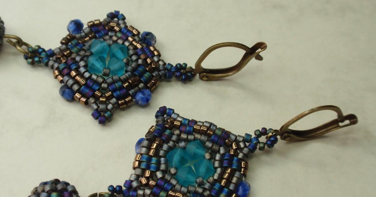 Con perlas y más...: Pendientes Atlántic