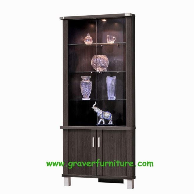 Lemari Display LHS 2866 Graver Furniture