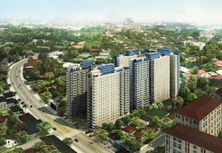 Avida Towers New Manila Perspective