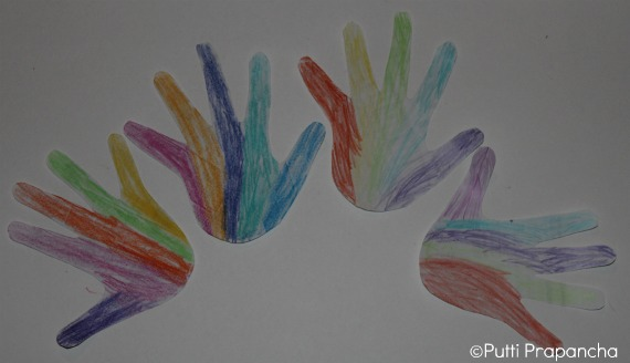 rainbow activity for kids