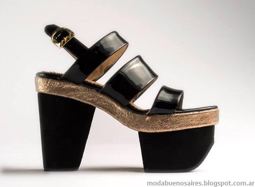 Zapatos Lomm verano 2014. Sandalias 2014.