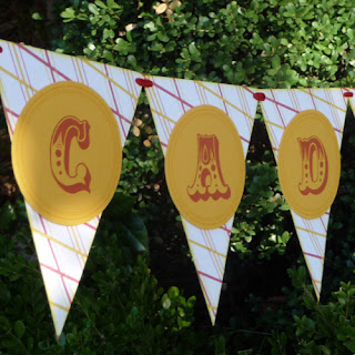 Carnival Party Supplies Handmade