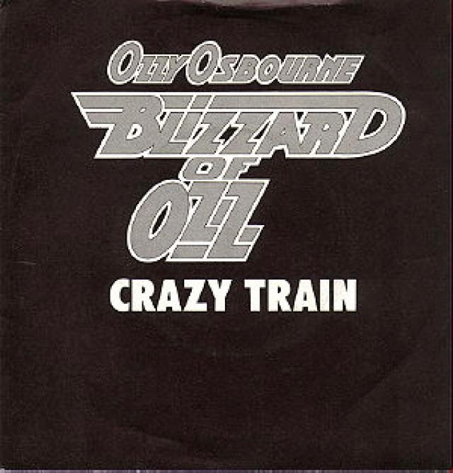 ozzy osbourne - crazy train - single