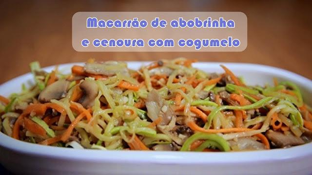 receita bela gil bela cozinha macarrão de abobrinha