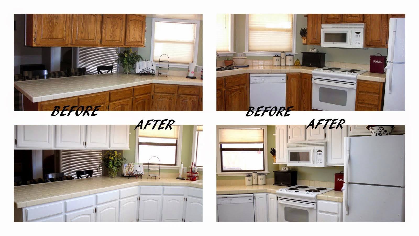 Kitchen Makeover Ideas On A Budget Part - 17: Cheap Kitchen Makeover Ideas Before And After