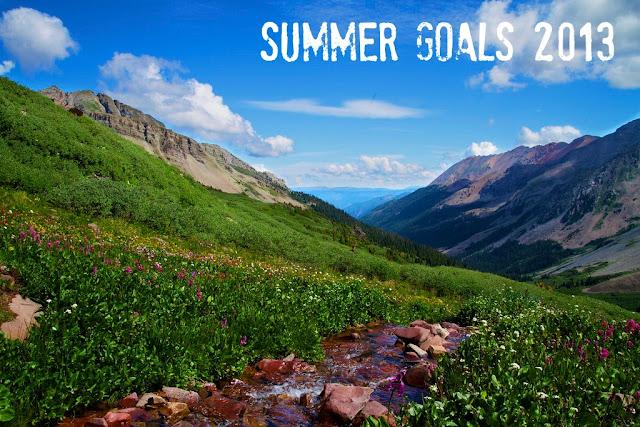 summer goals 2013