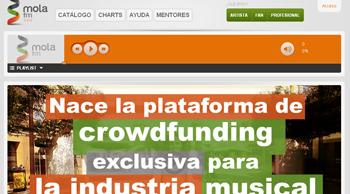 conoce y escucha nuevos artistas y bandas de musica en Mola fm