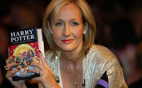 who writes harry potter books
