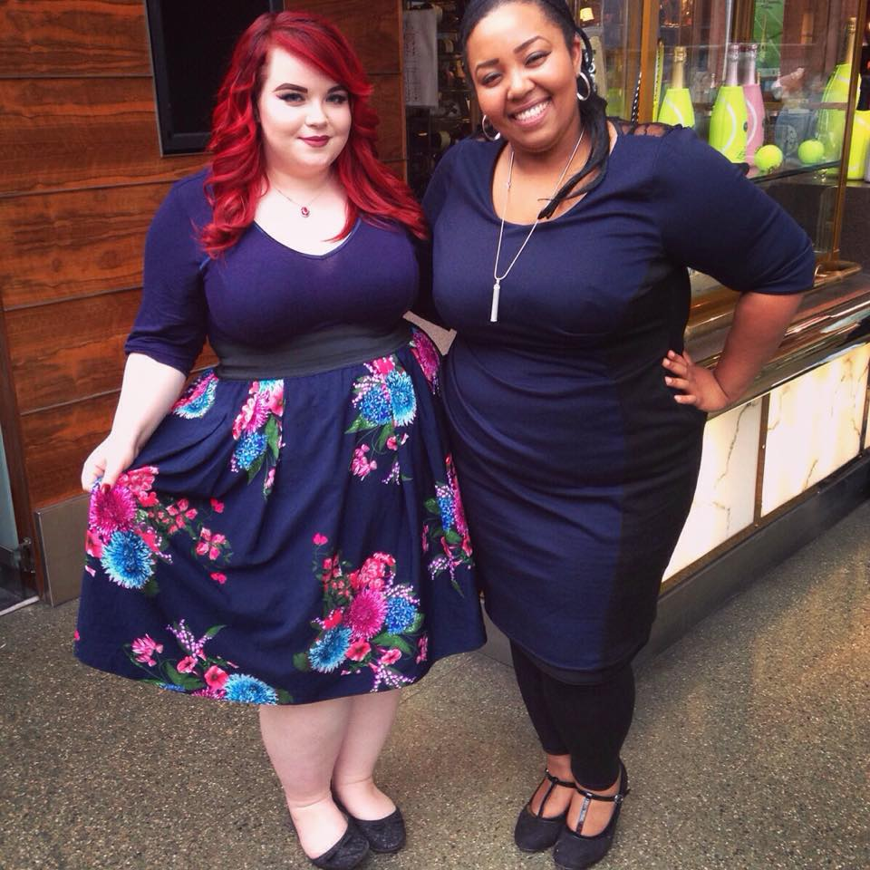 she might be loved and Beautyful Youniverse, plus size bloggers