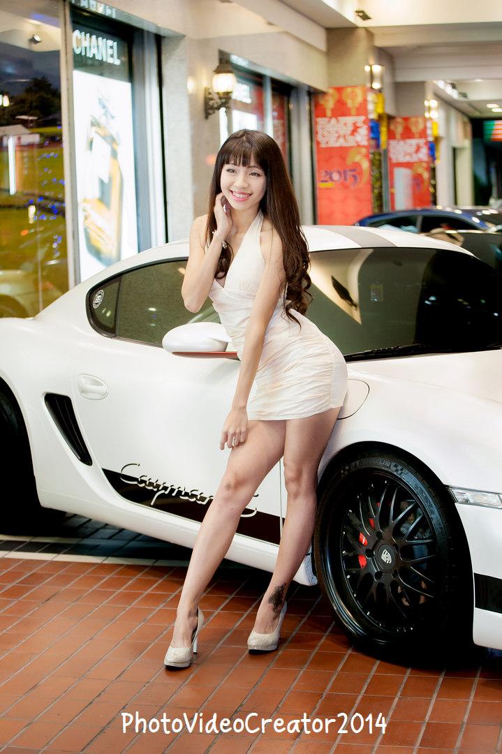 2015 1/10 高雄大立百貨 超跑美女攝影會
