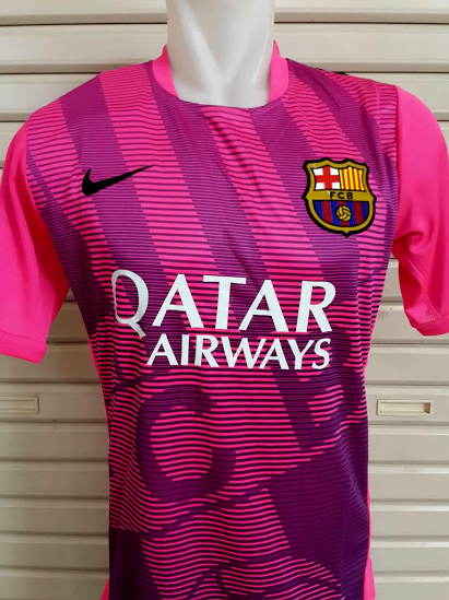 Jersey Training Barcelona Pink 2015 2016