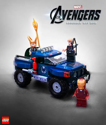 Marvel x LEGO The Avengers Movie - Loki's Cosmic Cube Escape Set