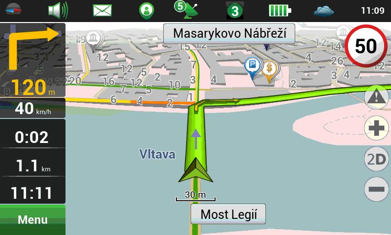 Navitel 5.0.2.721 Full , Aplikasi GPS Offline Stabil untuk Android ICS